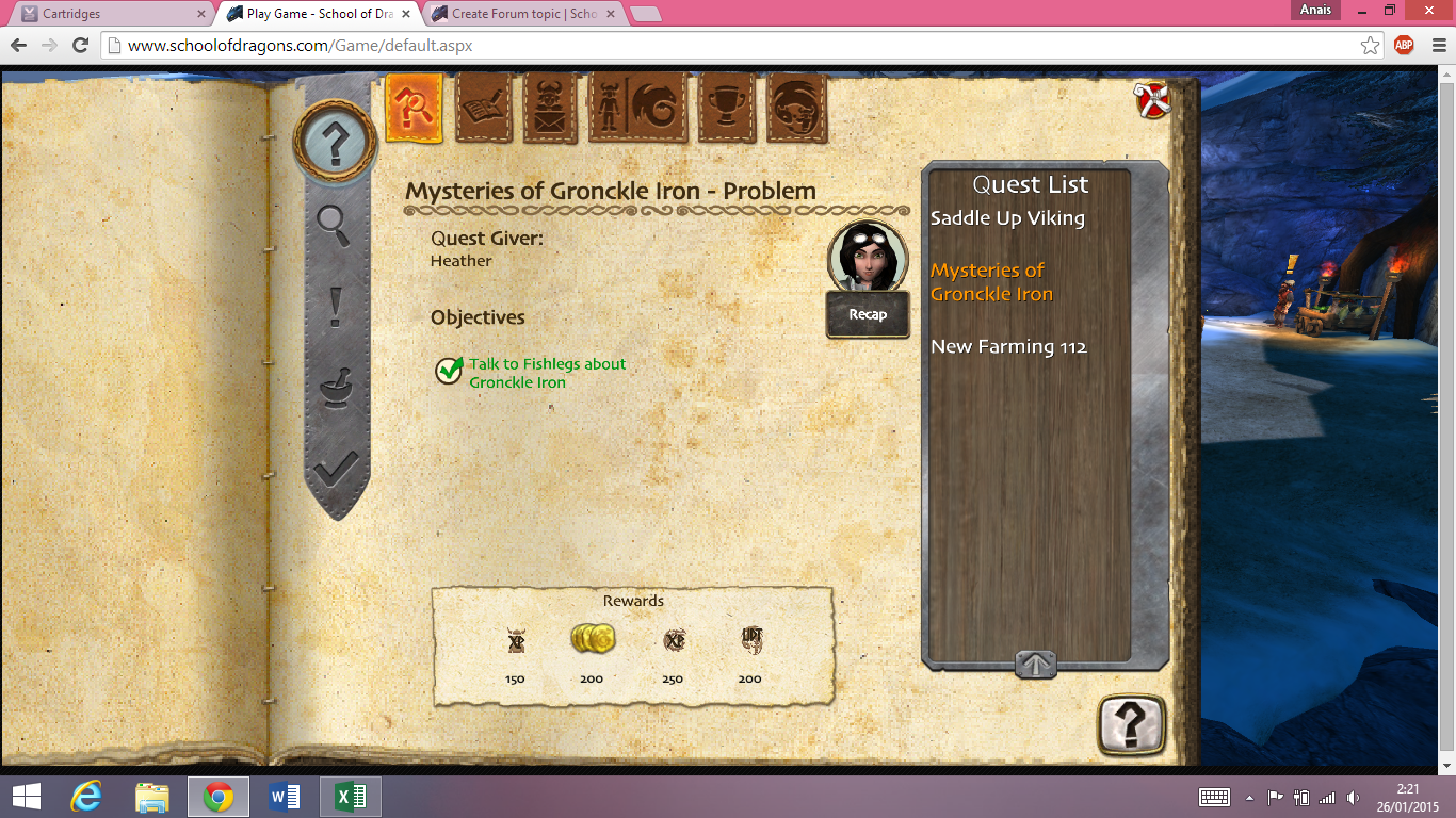 stuck at mysteries of gronckle iron school of dragons how to